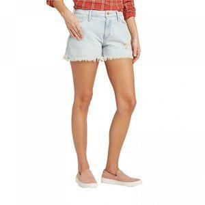 NWT Universal Thread Jean Shorts 16 Light Blue